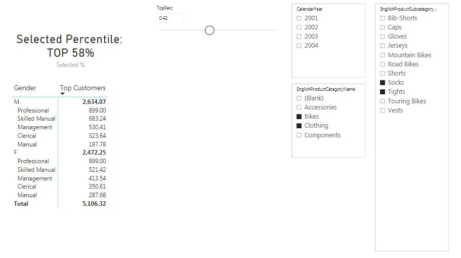 Calculate Dynamic Percentiles using DAX - XcelanZ